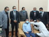 صحة الفيوم تواصل إجراءات تطعيم الاطقم الطبية بلقاح كورونابمستشفى الجامعة|صوت مصر نيوز