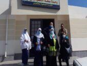 مدير الإدارة الصحية بابشواى تتفقد العمل في وحدة « منشأة هويدى »|صوت مصر نيوز