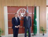 مساعد وزير الخارجية للشئون الأفريقية يجري زيارة إلى جيبوتي على رأس وفد من الوزارات والشركات المصرية | صوت مصر نيوز