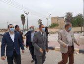 محافظ كفر الشيخ يتفقد أعمال الرصف بمحور سعد زغلول وإنشاء الحديقة المركزية المجانية | صوت مصر نيوز