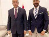 رئيس وزراء العراق يبحث مع مصطفي العبد الله لدعم الفنانين العراقيين | صوت مصر نيوز