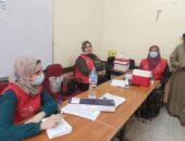 الصحة تطعيم 200 مواطن بلقاح كورونا بابشواى وبندر الفيوم صوت مصر نيوز