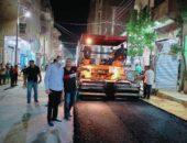 تنفيذ مشروعات جديدة لرصف الطرق بمركزي طامية وأبشواي بتكلفة 141 مليون جنيه صوت مصر نيوز