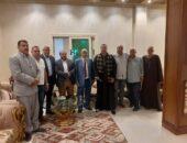 القضاء العرفي ينهي خصومة بين عائلتين بكفرالشيخ   صوت مصر نيوز