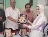 رئيس مركز ومدينة سنورس يشهد حفل تكريم أوائل الشهادة الإعدادية | صوت مصر نيوز