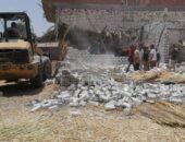 إزالة 5 حالات تعدٍ فى المهد على الأراضي الزراعية بمركز أبشواي | صوت مصر نيوز