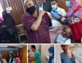 استمرار عمل الفرق الطبية المتنقلة لتطعيم المواطنين بالجهات الحكومية و المصانع بابشواى | صوت مصر نيوز