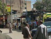 جزار يذبح زوجته بالسكين بالشارع أمام أعين الجميع بمركز سنورس بالفيوم   صوت مصر نيوز